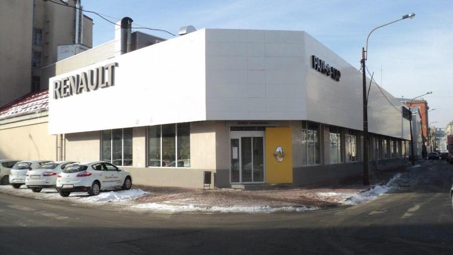 Компания «Балтийская коммерция» на месте автоцентра Renault на Петроградской стороне построит жилой дом