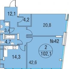 Фото планировки Олимпийская деревня Новогорск. Квартиры от Химки Групп. Жилой комплекс