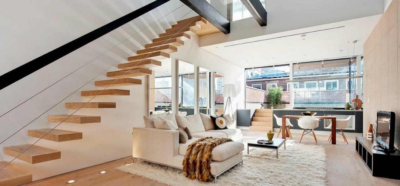 Новая акция от «КОРТРОС»: лестница в подарок покупателям двухуровневых квартир в «Прима-Парке»