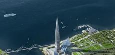 463 – метровый небоскреб в Лахте начнут строить с октября