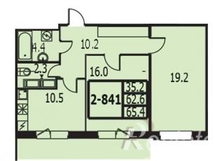 Фото планировки Балтийская жемчужина от Балтийская жемчужина. Жилой комплекс