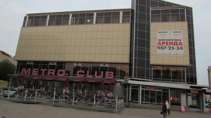 Бывший клуб «Метро» на Лиговском ждет перезагрузка от китайских инвесторов