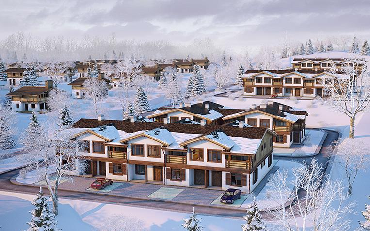 Компания «Росинжиниринг» приступила к строительству малоэтажного ЖК «Образ Жизни» вокруг курорта «Охта-Парк»
