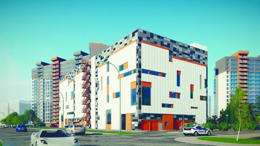 ГК «Эталон» получила разрешение на строительство нового жилого комплекса на проспекте Маршала Блюхера