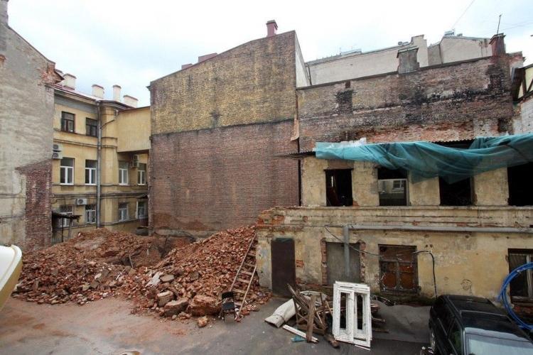 КГИОП Петербурга инициирует уголовное дело о сносе здания-памятника федерального значения на проспекте Римского-Корсакова