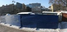 Строительство на месте снесенных касс БКЗ начнется в 2013 году