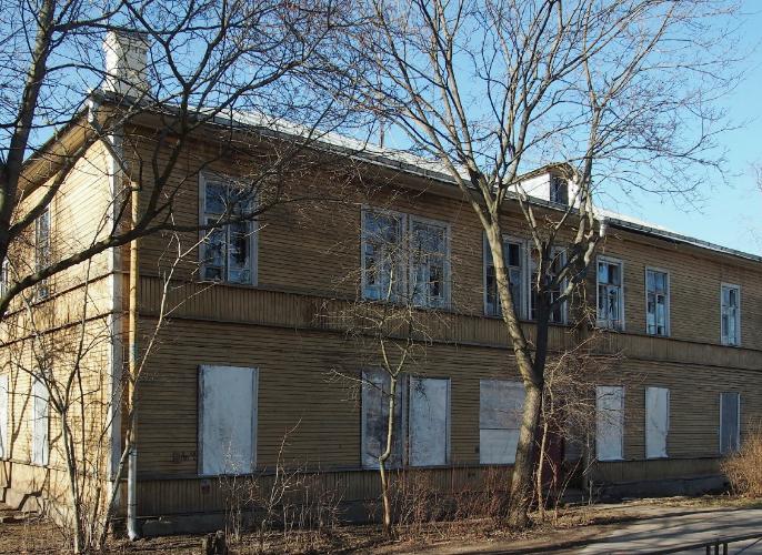 Компания «Павловск-Стройинвест» начала строительство ЖК «Константиновская, 20» на месте снесенной деревянной постройки в Петергофе