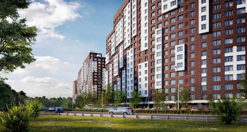 Фото ЖК Румянцево-Парк от Lexion Development. Жилой комплекс