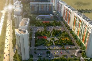 В жилом комплексе «GreenЛандия» появится продуктовый супермаркет