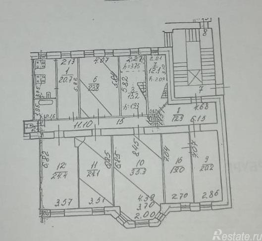 Продать Комнаты в квартирах Санкт-Петербург,  Петроградский,  Петроградская, Каменноостровский пр-кт