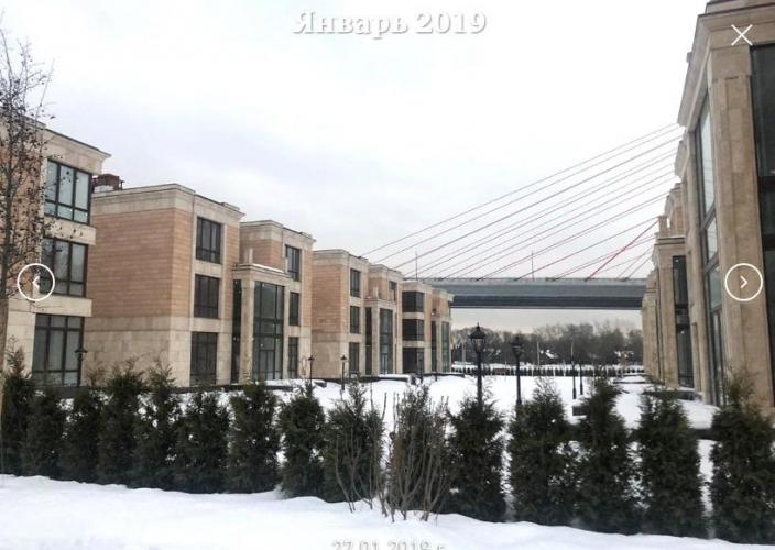 Начался снос элитного ЖК «Берег столицы»  на северо-западе Москвы