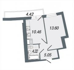 Фото планировки Green City от Северный город. Жилой комплекс Грин Сити
