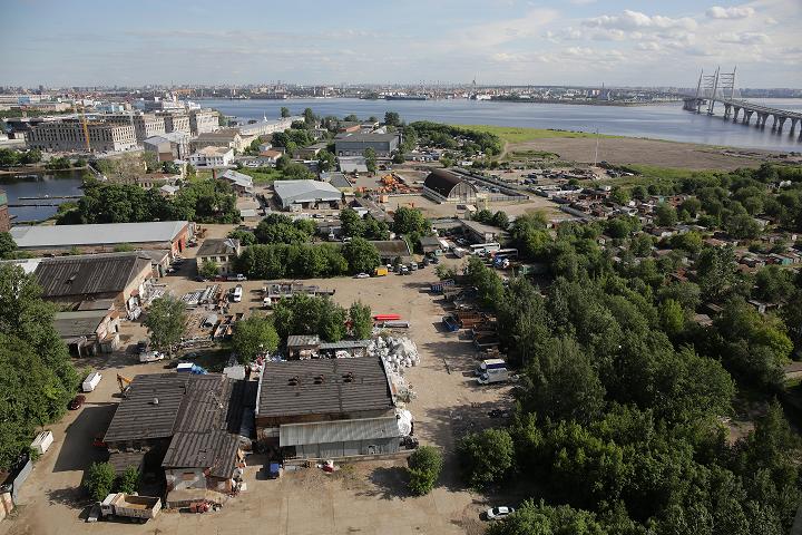 РАД продает 3 га в Василеостровском районе под жилую застройку