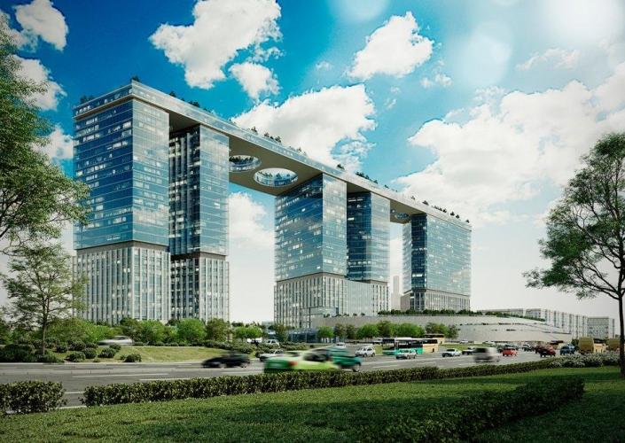 ТПУ «Парк Победы» с ТРЦ, офисами и апартаментами планируется ввести в 2022 году