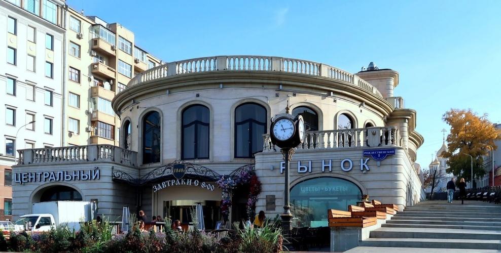 ГК «Киевская площадь» выкупила Центральный рынок на Рождественском бульваре в Москве