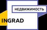 Инград Недвижимость - информация и новости в компании Инград Недвижимость