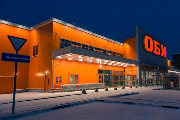 Все гипермаркеты ОБИ в Петербурге ждет переделка