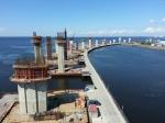 Губернатор Петербурга доложил президенту РФ о завершении работ на строительстве Западного скоростного диаметра