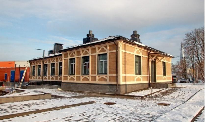 В Лахте достроен бизнес-центр с корпусом-новоделом
