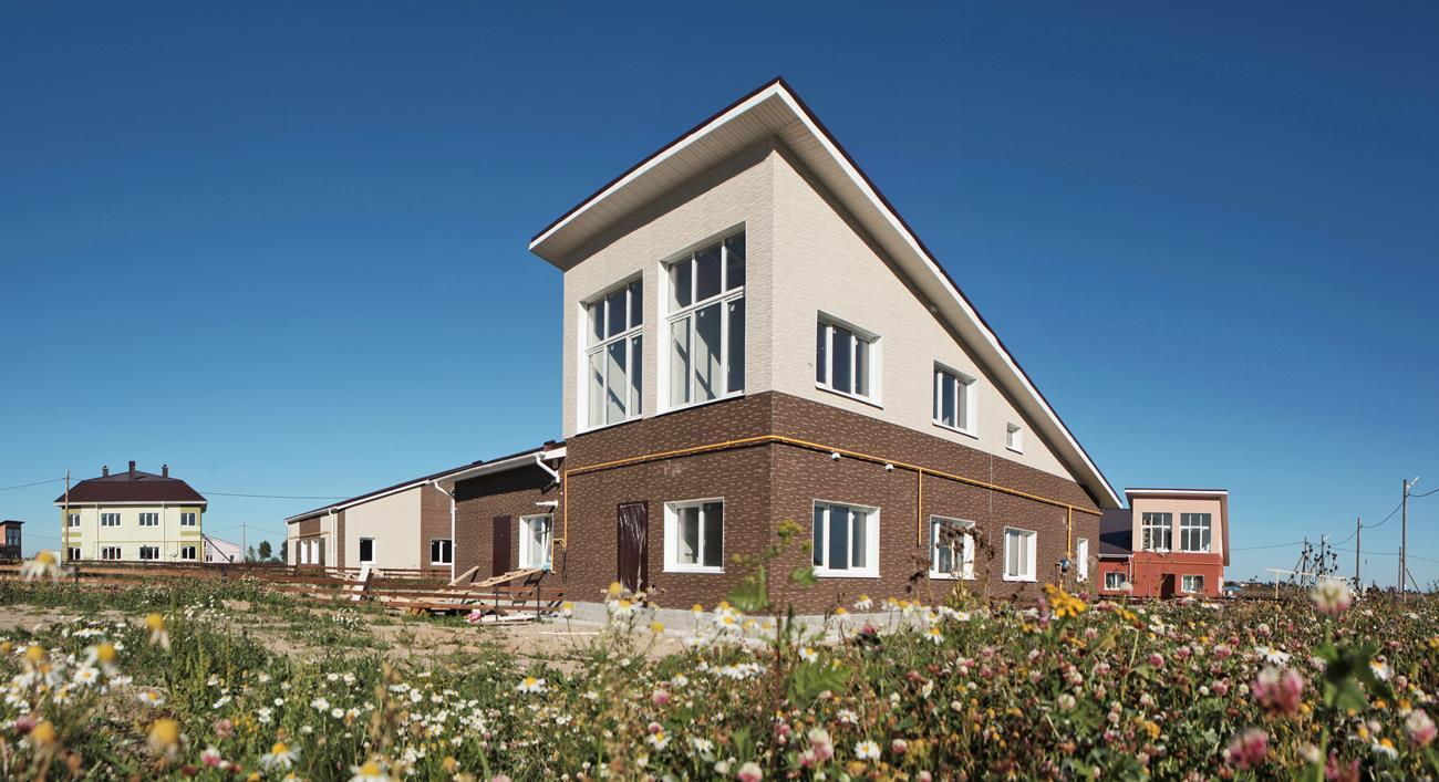 Фото коттеджного поселка Покровское от СНВ Северо-Запад. Коттеджный поселок Pokrovskoe