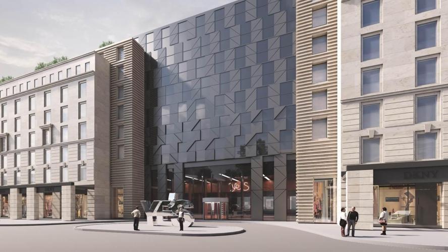 Pioner показал в Каннах проект апартаментов на месте фабрики Крупской