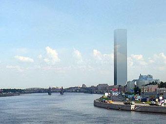 Фотографии проекта Газпром Сити в Санкт-Петербурге